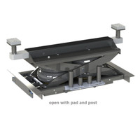QSP  JW-9000 - 9,000 Pound Rolling Jack With (2) Internal Air Bags