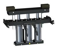 QSP  RJ-7000 7000 lb Pneumatic Pivoting Rolling Bridge Jack for Post or Scissor Lifts