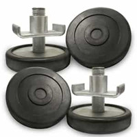 BendPak Screw Pads with Receiver  35mm Pin (Set of 4)