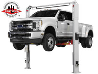 Atlas Platinum PVL-10 ALI Certified 10,000 Lbs. Adjustable Height 2 Post Overhead Car Lift