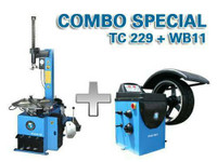 Atlas® Combo TC229 / WB11 Tire Changer / Wheel Balancer
