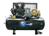 Atlas® Air Force AF15 Plus 15 HP. Two Stage Three Phase 120 Gallon Tank w/PLUS Package