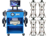 Atlas® Edge 501 Wireless 8 Camera Alignment Machine With 4 Point Clamps And Turntables