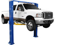 Atlas® PV-10P Overhead 10,000 lbs. Capacity Adjustable Height 2 Post Above Ground Lift