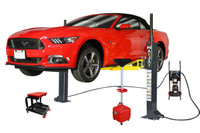 MaxJax M-6 Deluxe Package Two Post Portable Lift ETL/ALI Certified