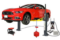 MaxJax M-6 Supreme Package Two Post Portable Lift ETL/ALI Certified