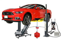 MaxJax M-6 Ultimate Package Two Post Portable Lift ETL/ALI Certified