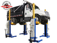 Atlas® 66,000 LB. ALI Certified Battery Powered Mobile Column Lift System