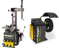 Ranger Combo R745/DST2420  Entry-Level Tire Changer and Wheel Balancer