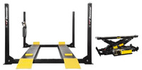 Dannmar  D-12 12,000 Lbs Capacity 4-Post Car Lift Service-Parking- Storage Lift 1x Rolling Bridge Jack included