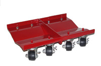 "Merrick M998031  Set of 2 (24"" x 16"")  Super Dually Dolly - 1 Dolly 5200 Lb Capacity"