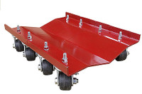 "Merrick M998064 - 24"" X 16"" RIBLESS DUALLY DOLLY - 5200 LBS. CAPACITY, SOLD INDIVIDUALLY"