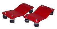 "Merrick M998100 8"" x 16"" Auto Car Dollies (Standard) Set of 2"