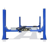 Tuxedo 14,000 Lbs  4 Post Alignment Lift FP14KO-A Open Front Turnplates included