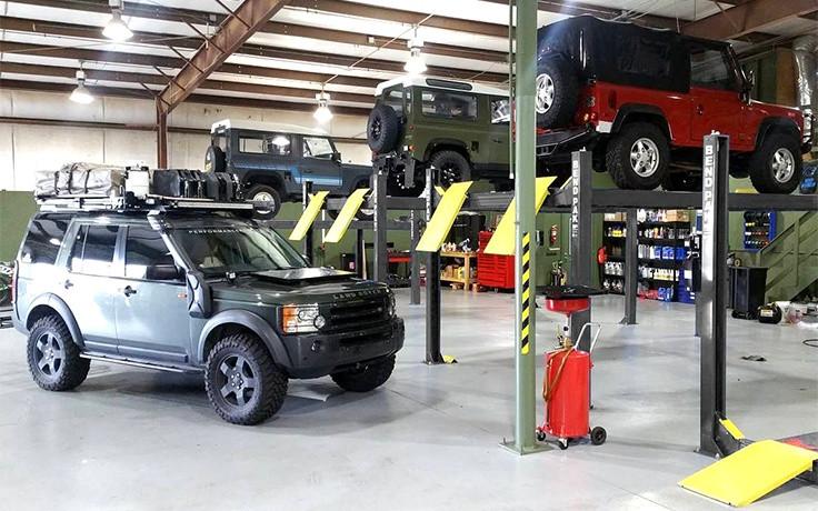 BendPak 4 Post Car Lift 9,000-lb  Capacity HD-9