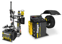 Ranger COMBO R76ATR Tilt-Back Tire Changer with Assist Tower | Wheel Balancer DST2420 Combo