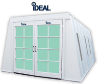IDEAL PSB-AFCF23ASY - Ideal Paint Booth (22-6L x 13W x 8H - ID) A Frame Cross Flow