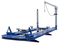 Ideal FR-77-18  18 Ft Frame Straightener - Solid Steel  Deck