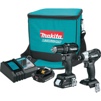 Makita BHP452LA 18V LXT Lithium-Ion Cordless Driver-Drill Kit w/ flashlight,