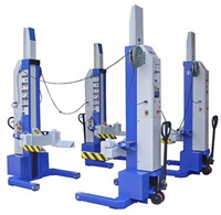 Ideal MSC-13K-B  4 x Single Mobile Column Lift System 52,800 Lbs. Capacity