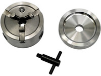 Quick Chuck 70040  Brake Lathe Quick Chuck Adapter / Backing Plate / Key fits Ammco Etc.