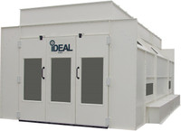 iDEAL PSB-SDD26ASY-AK -1-Phase  Ideal Paint Booth (26L x 14W x 9.3H - ID) Side Down Draft Booth
