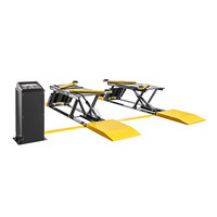 BendPak P9000  - 9,000 Lb. Capacity, Low-Rise Lift, Open-Center, Pit-Style - Surface Mount