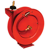 "Lincoln 3/8"" X 50' Assembled Air Hose Reel"