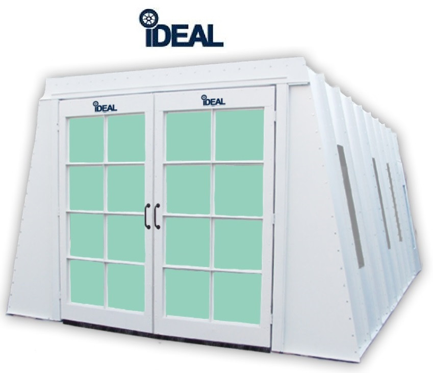 iDEAL PSB-AFCF23ASY -(1-Ph) Paint Booth (22-6L x 13W x 8H - ID) A Frame  Cross Flow