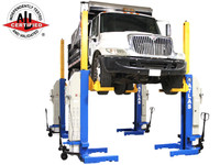 Atlas® 74,000 LB. ALI Certified Battery Powered Mobile Column Lift System
