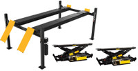 Dannmar Combo  D-12/A 12,000 Lbs Cap. Alignment Lift & 2 x Bridge Jacks/ Airline Kit
