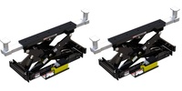 Pair of BendPak RBJ-15000 Rolling Bridge Jacks  15000 LBS  for HDS-27 4-Post Lifts