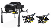BendPak Combo  HDSO14P/RBJ7000 14,000-lb. Capacity Open Front Car Lift