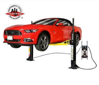 MaxJax M-6 Two Post Portable Lift  November Promo: Free 8 Gallon Oil Drain