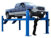 Atlas® 14KOF-EXT Garage Pro Open Front 4 Post Alignment Lift (COMMERCIAL GRADE, EXTRA LONG)