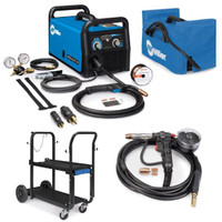 Miller Combo  Millermatic 211 MIG Welder, Spoolmate 150, and Accessories (907614)
