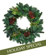 Cheerful Pine Wreath