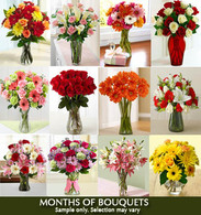 Monthly Bouquets