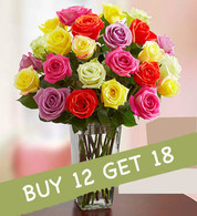 Colored Kisses: Buy 12 Get 18