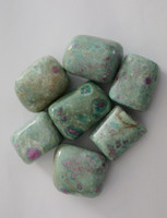 Ruby & Fuschite Tumbled Stones