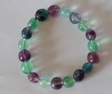 Fluorite (Rainbow) Bracelet Medium