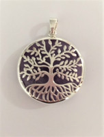 Tree of Life Pendant with Amethyst