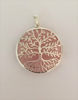 Tree of Life with Rose Quartz Pendant