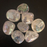 Opal (Angel)  Aura Tumbled Stone
