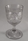 Lincoln Drape with Tassel Flint Glass Goblet SOLD