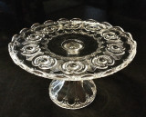 "Tennessee Pattern 10.5"" EAPG Pedestal Cake Stand"