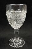 Horsemint EAPG Pattern Glass Goblet