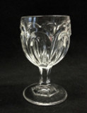 Seneca Loop Flint Glass Goblet