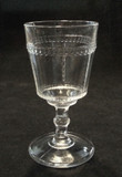 Scalloped Tape EAPG Goblet