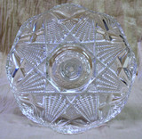 Antique Faceted Pedestal Cake Stand UNUSUAL